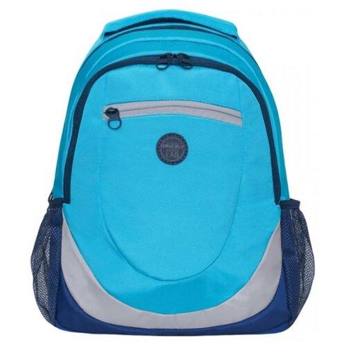Рюкзак Grizzly RD-953-1 14 голубой/синий