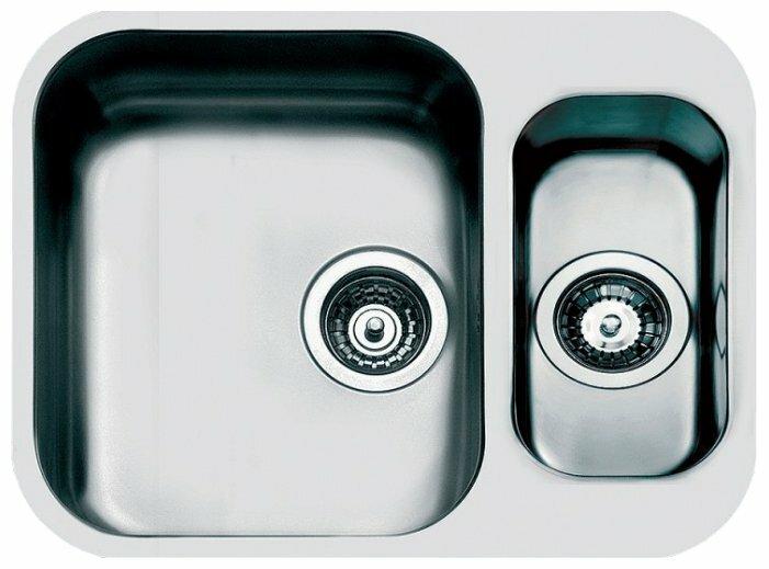 Врезная кухонная мойка smeg UM3415 56.6х46см нержавеющая сталь