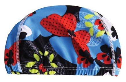 Шапочка для плавания BRADEX полиэстер синий/красный