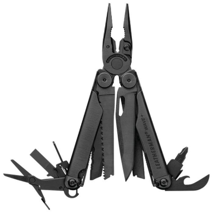 Мультитул LEATHERMAN Wave plus (832524) (17 функций) с чехлом