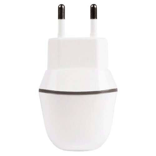 Сетевая зарядка SmartBuy Nova MKII SBP-1005-8 белыйЗарядные устройства и адаптеры<br>