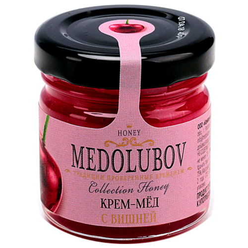Крем-мед Medolubov с вишней 40 мл
