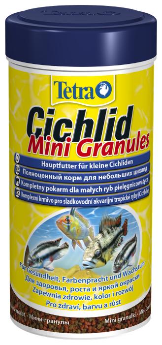 Сухой корм Tetra Cichlid Mini Granules для рыб