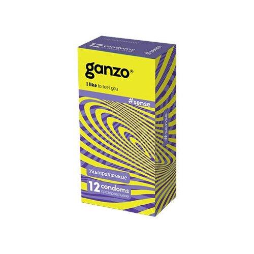 Презервативы Ganzo Sense (12 шт.) презервативы ganzo juice 12 шт