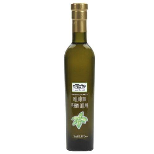 Casa Rinaldi Масло оливковое Extra Virgin с базиликом 0.25 л casa rinaldi масло оливковое pomace sansa стеклянная бутылка 1 л