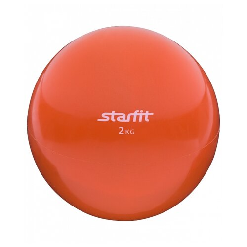 Медбол Starfit GB-703, 2 кг оранжевый