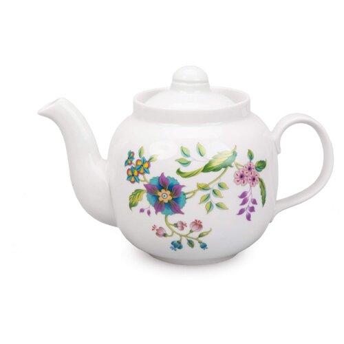 Дулёвский фарфор Заварочный чайник Янтарь 700 мл луговые цветы кружка bhk луговые цветы 450 мл