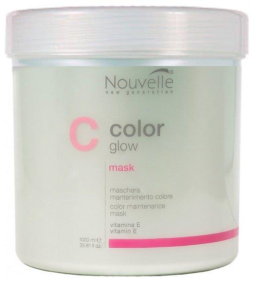 Nouvelle Color Glow Маска для поддержания и защиты цвета для волос и кожи головы