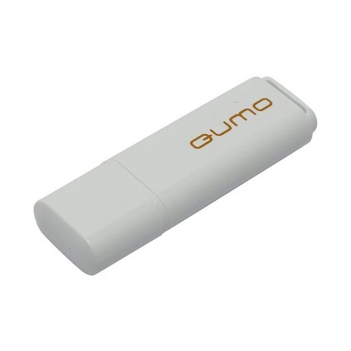 Фото - Флешка Qumo Optiva OFD-01 16Gb белый внешняя акб qumo poweraid qc 3 0 15600