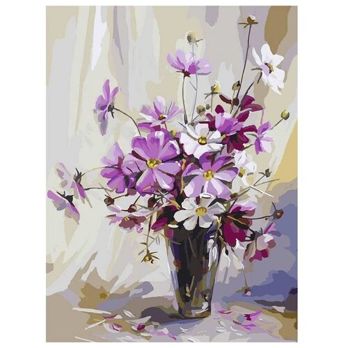 Купить Белоснежка Картина по номерам Космея 30х40 см (037-AS), Картины по номерам и контурам