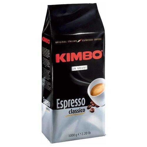 Кофе в зернах Kimbo Espresso Grani, арабика/робуста, 1000 г кофе в зернах kimbo espresso bar prestige 1000