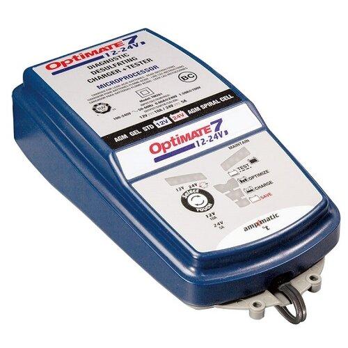 Зарядное устройство Optimate 7 12/24В синий зарядное
