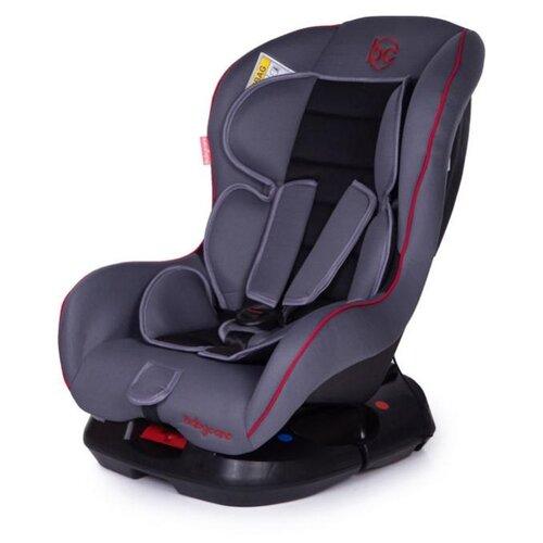 Автокресло группа 0/1 (до 18 кг) Baby Care Rubin, grey/black автокресло группа 1 2 3 9 36 кг little car ally с перфорацией черный