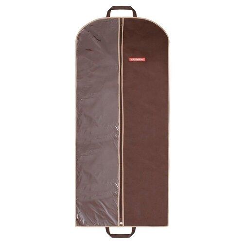 HAUSMANN Чехол для одежды HM-701402 60x140 см коричневый