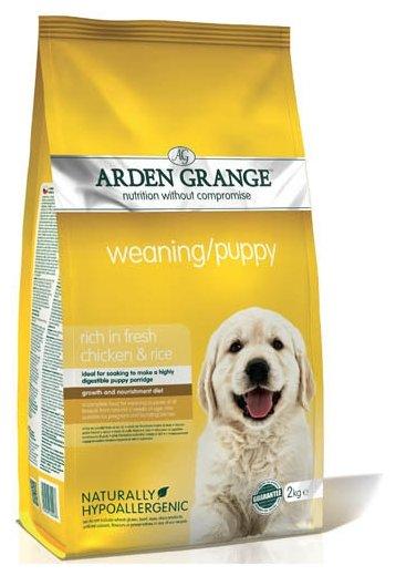 Корм для собак Arden Grange Weaning/Puppy курица для щенков