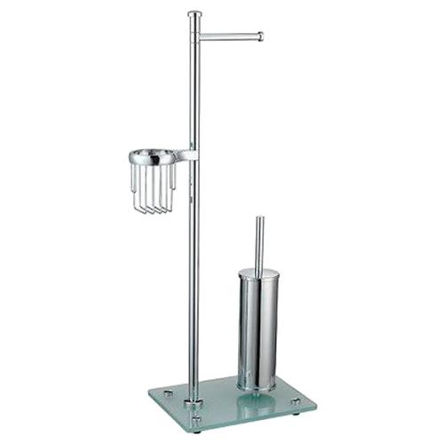 Ершик туалетный WasserKRAFT K-1264 хром туалетный ершик wasserkraft k 5027white