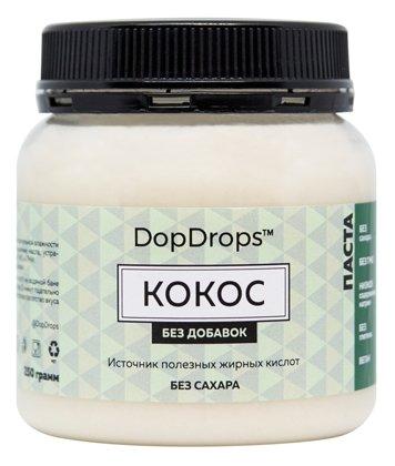 DopDrops Паста ореховая Кокос без добавок пластик