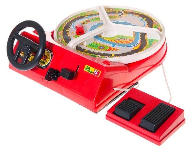Настольная игра ОмЗЭТ За рулем 5 с педалями ОМ-48001