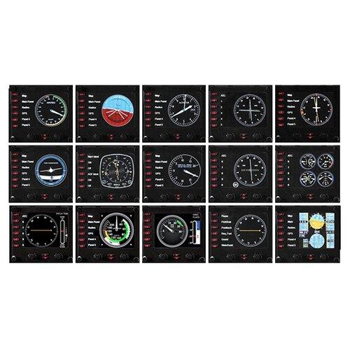 Панель Logitech G Flight Instrument Panel