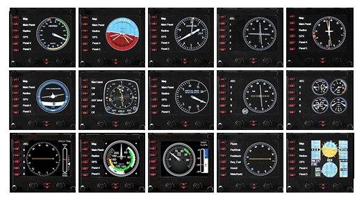 Logitech Панель Logitech Flight Instrument Panel