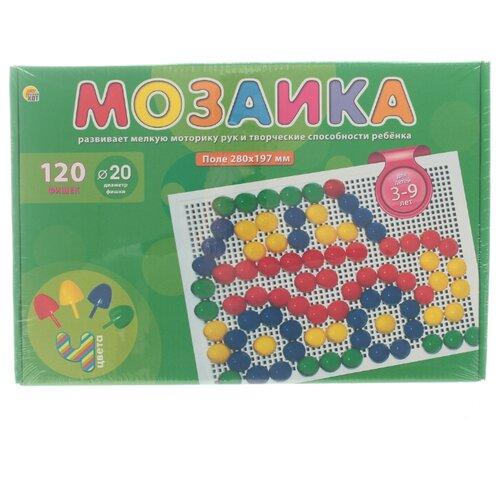 Рыжий кот Мозаика 120 фишек (М-0167) разноцветныйМозаика<br>