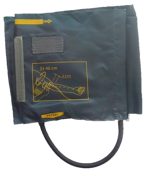 Манжета LITTLE DOCTOR LD-Cuff N1LR, для механических тонометров, 33-46см, 1 трубка