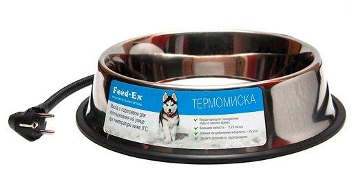 Миска Feed-Ex С подогревом для собак и других домашних животных TPM-01 2.75 л