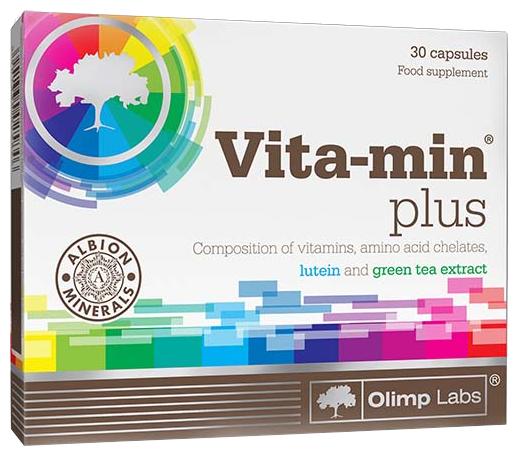 Минерально-витаминный комплекс Olimp Labs Vita-Min plus (30 капсул)