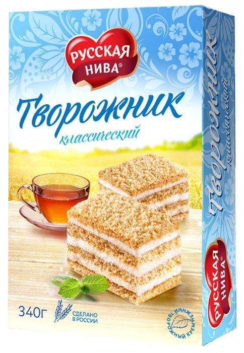 Торт Русская нива Творожник классический