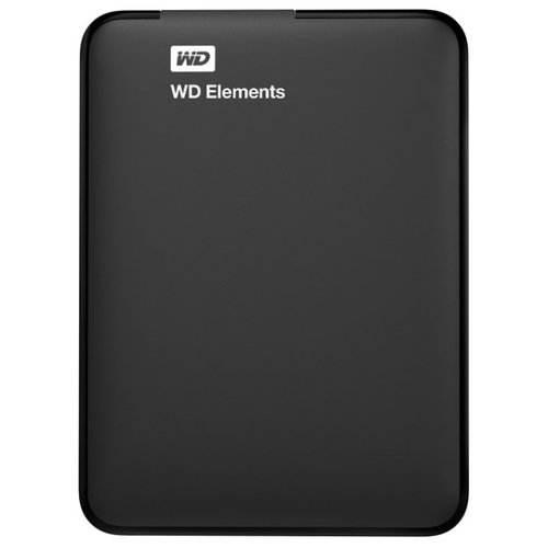 Фото - Внешний HDD Western Digital WD Elements Portable 4 ТБ внешний hdd wd elements portable 1tb black wdbuzg0010bbk wesn