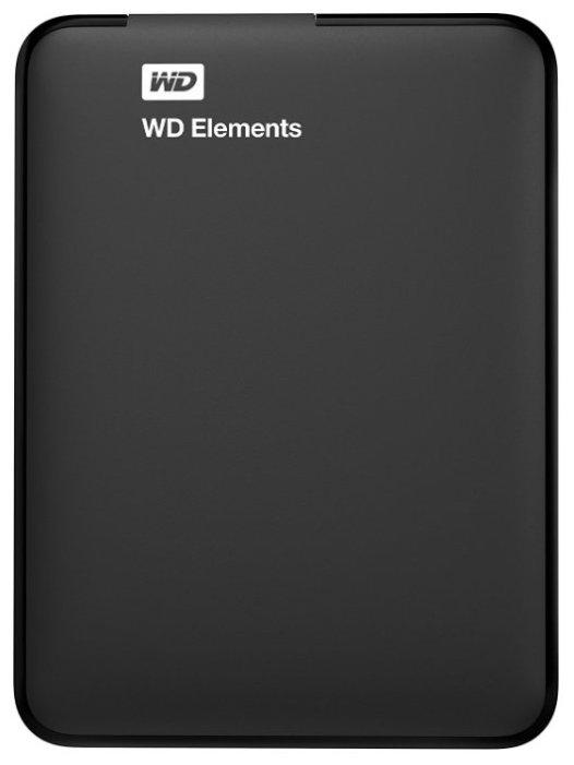 Внешний жесткий диск Western Digital WD Elements Portable 4 TB (WDBU6Y0040BBK-WESN)