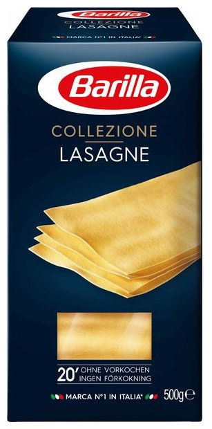 Barilla Лазанья Collezione Lasagne, 500 г