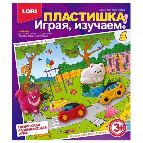 Купить Масса для лепки LORI Пластишка - Чудесное путешествие №1 (Тдл-028), Пластилин и масса для лепки