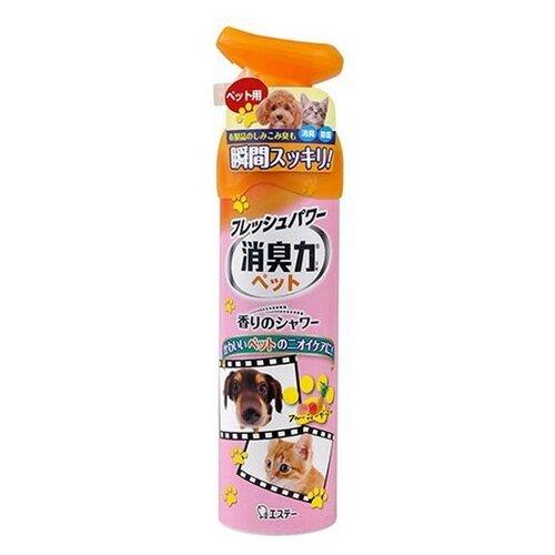 Shoshu-Riki спрей против запаха домашних животных с ароматом фруктового сада 280 мл 1 шт.