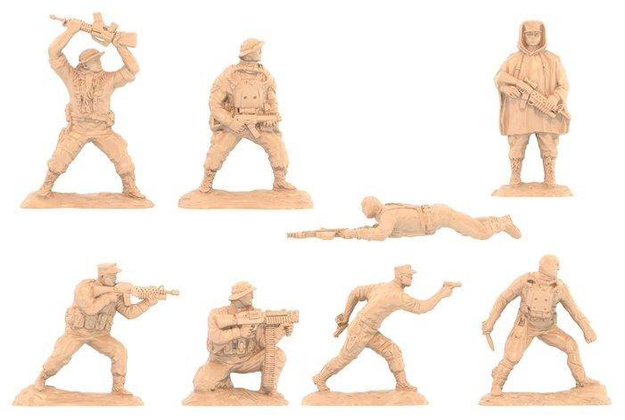 Солдатики Морские котики Сша 14х7х19 см