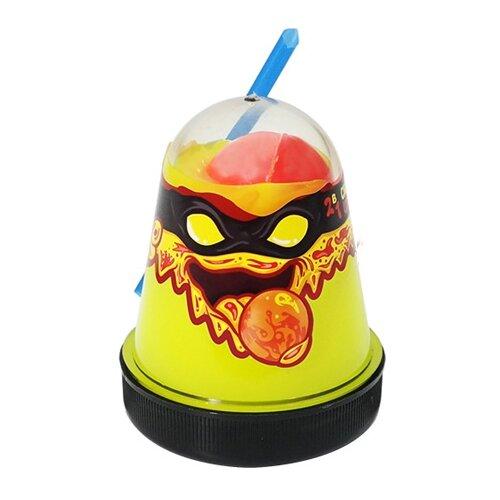 Купить Лизун SLIME Ninja 2 в 1 смешивай цвета, желтый и красный, 130 г (S130-2), Игрушки-антистресс