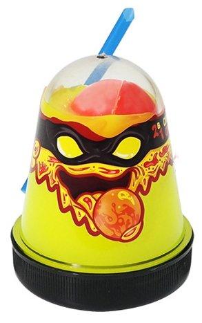 Лизун SLIME Ninja 2 в 1 смешивай цвета, желтый и красный, 130 г (S130-2)