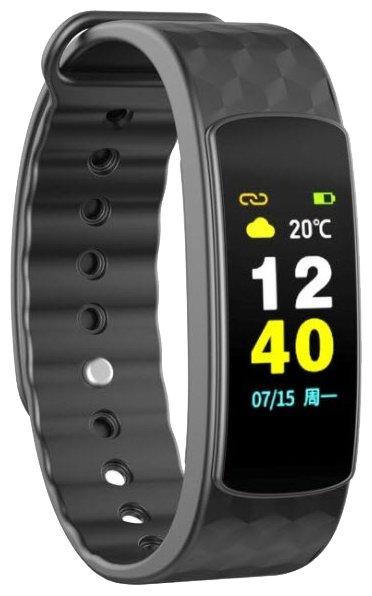 Купить Умный браслет IWOWN i6 HR Color черный по низкой цене с доставкой из Яндекс.Маркета (бывший Беру)