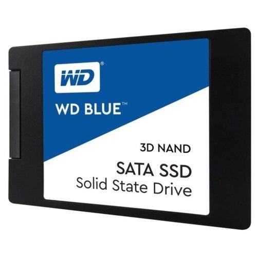 Купить Твердотельный накопитель Western Digital WD BLUE 3D NAND SATA SSD 500 GB (WDS500G2B0A)