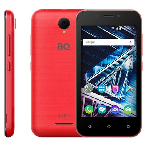 Смартфон BQ 4028 UP! красный смартфон bq bq 4028 up gray