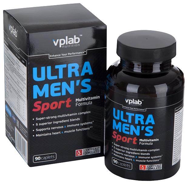 Минерально-витаминный комплекс VP Laboratory Ultra Men s Sport (90 каплет)