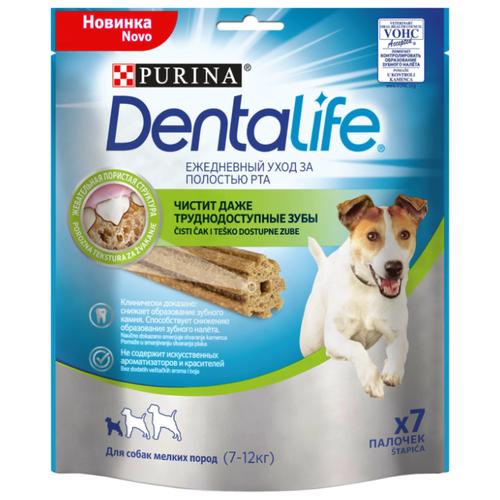 Лакомство для собак Dentalife Уход за полостью рта для мелких пород 115 г
