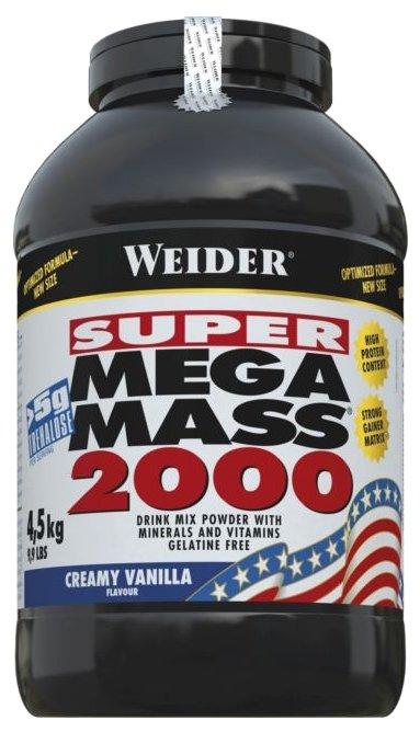 Гейнер Weider Mega Mass 2000 (4.5 кг)