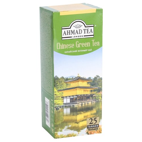 Чай зеленый Ahmad tea Chinese в пакетиках, 25 шт.