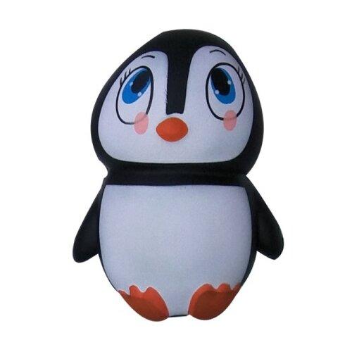 Игрушка-мялка 1 TOY Пингвин Т12321 черно-белый, Игрушки-антистресс  - купить со скидкой