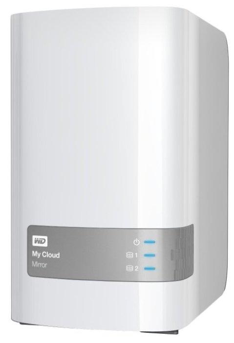 Сетевой накопитель (NAS) Western Digital My Cloud Mirror 4 TB (WDBWVZ0040JWT-EESN)