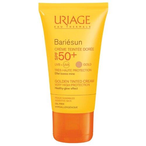 Uriage Bariesan крем солнцезащитный с тональным эффектом Gold SPF 50 50 мл uriage spf 30