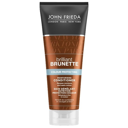 John Frieda кондиционер brilliant BRUNETTE COLOUR PROTECTING moisturising, 250 млОполаскиватели<br>