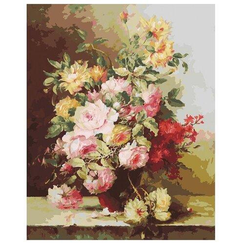Купить Белоснежка Картина по номерам Букет Элегия 40х50 см (131-AB), Картины по номерам и контурам