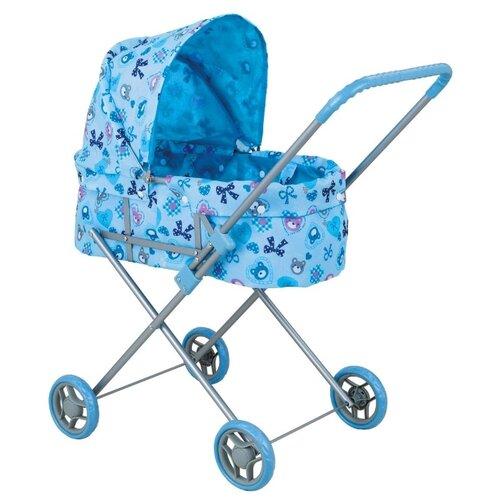 Коляска-люлька Buggy Boom Mixy (8013) голубой/бантик buggy boom коляска для кукол buggy boom infinia трансформер салатовая